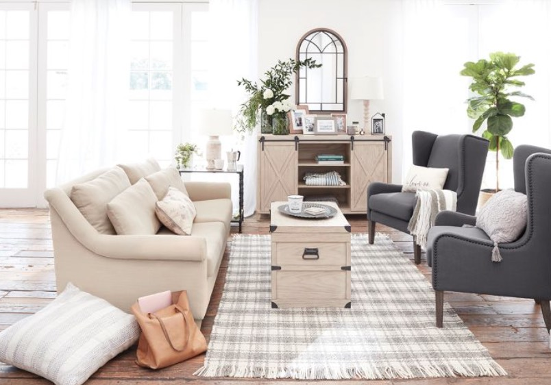 bed bath beyond farmhouse furniture bee & willow