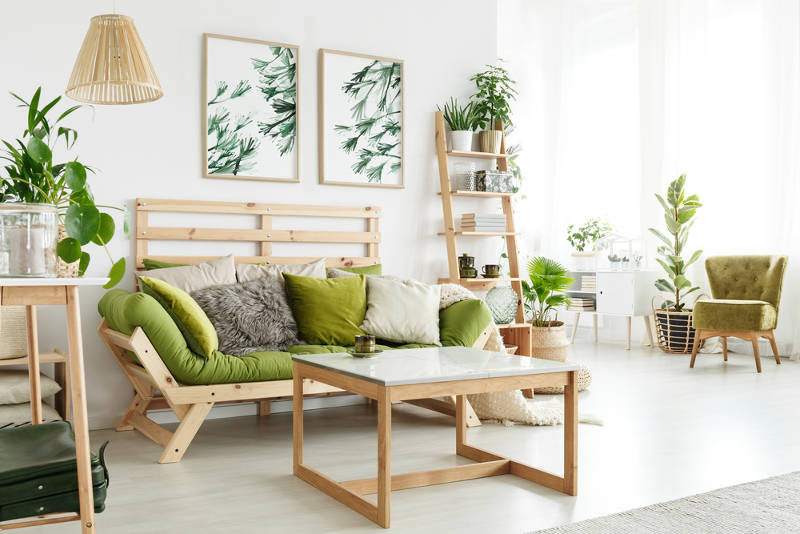 green furniture ideas