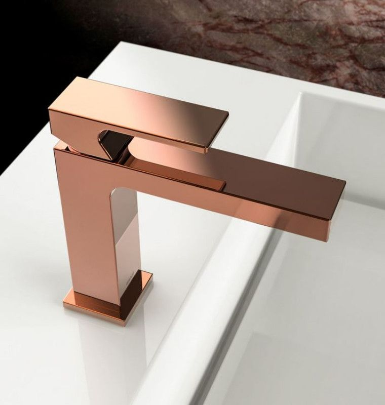 GRAFF Incanto Rose Gold Faucet.