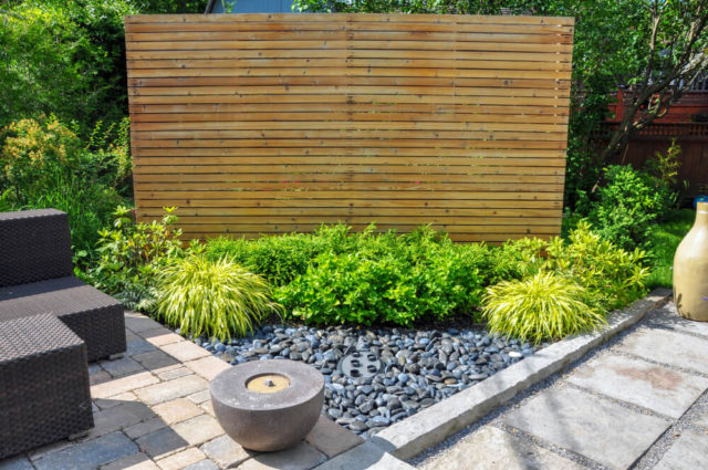 Partial Privacy Fences Section Panel