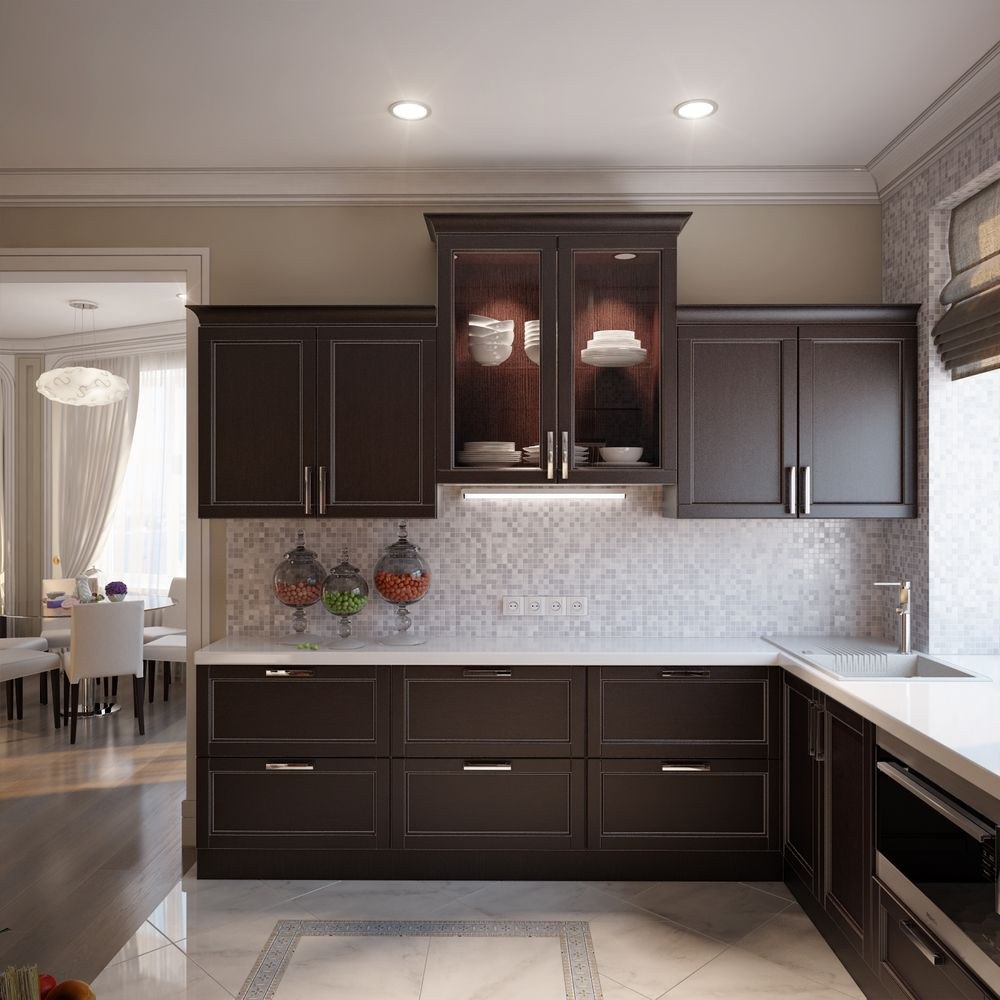 What is an L-shaped Kitchen Layout""
