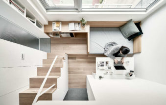 Small Apartment in Taipei Reveals Great Storage Options