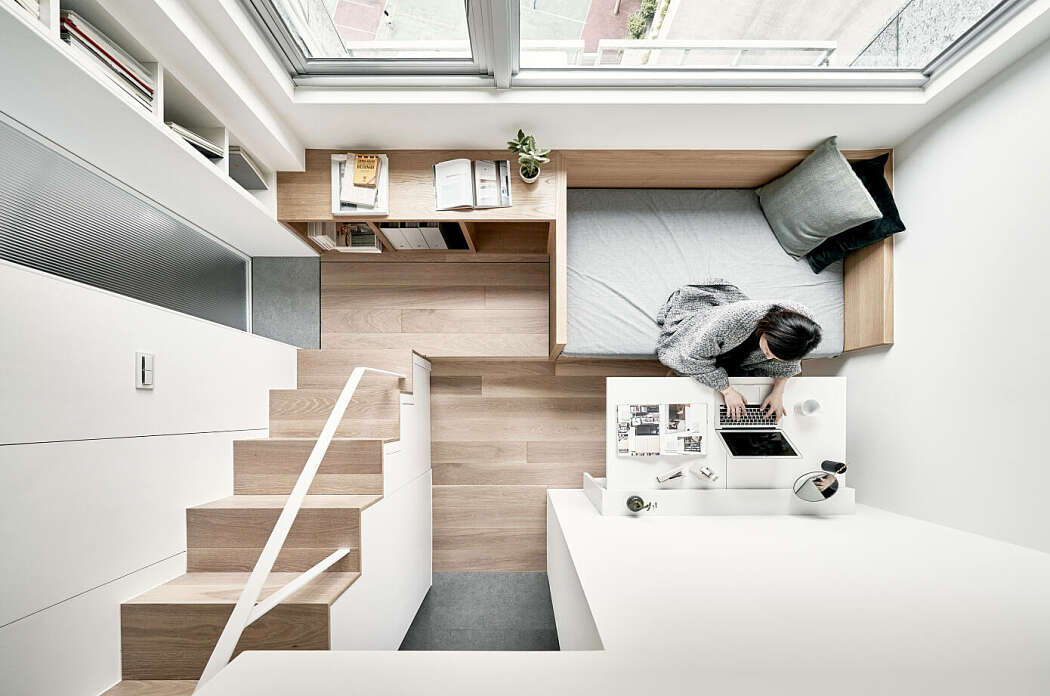 Small Apartment in Taipei Reveals Great Storage Options ...