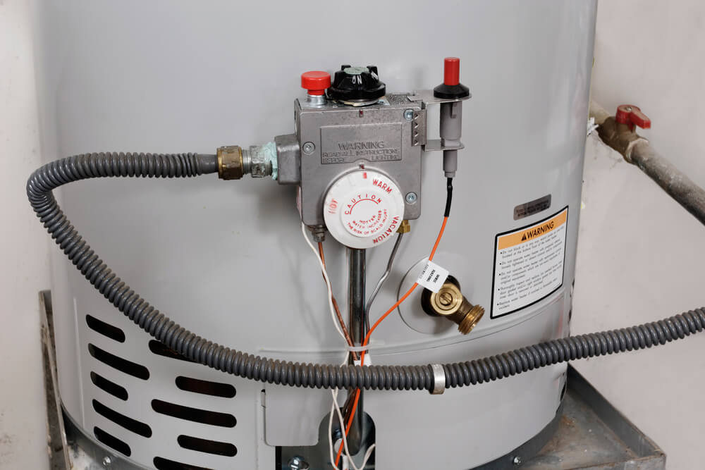flush your hot water heater - temp