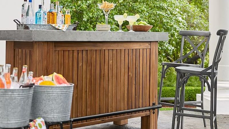 How to Add an Outdoor Bar
