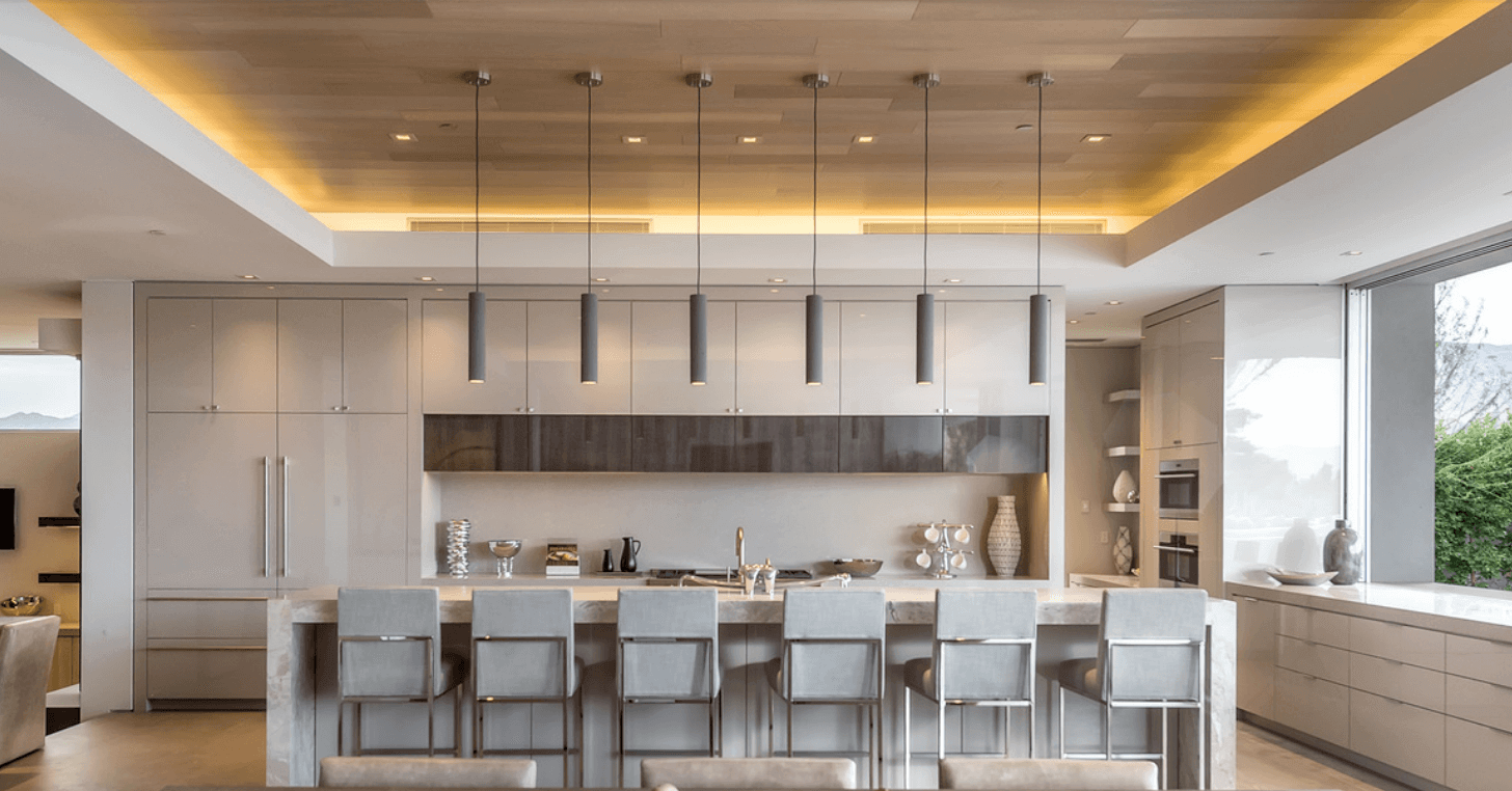 A kitchen designed by Philip Nikolich. Photography by Angie Agostino. I