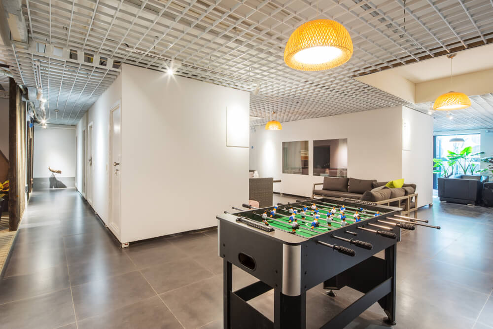 Game Room Foosball Table