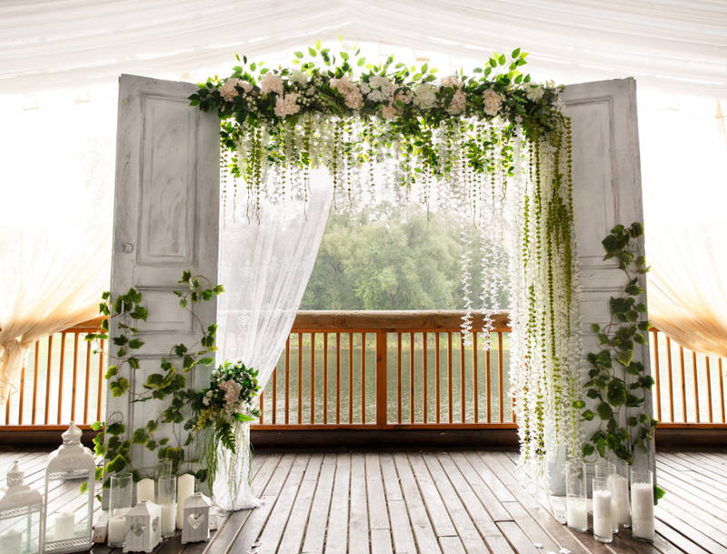 farmhouse chic wedding decorating ideas