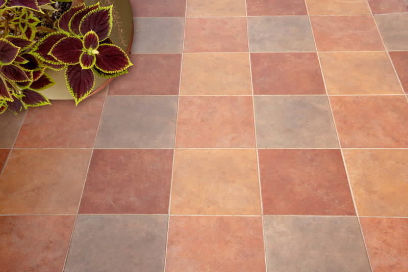 how to update your patio floor with tile