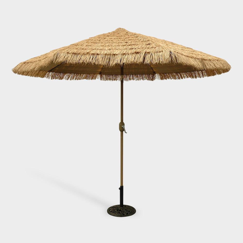world market outdoor products - thatched umbrella
