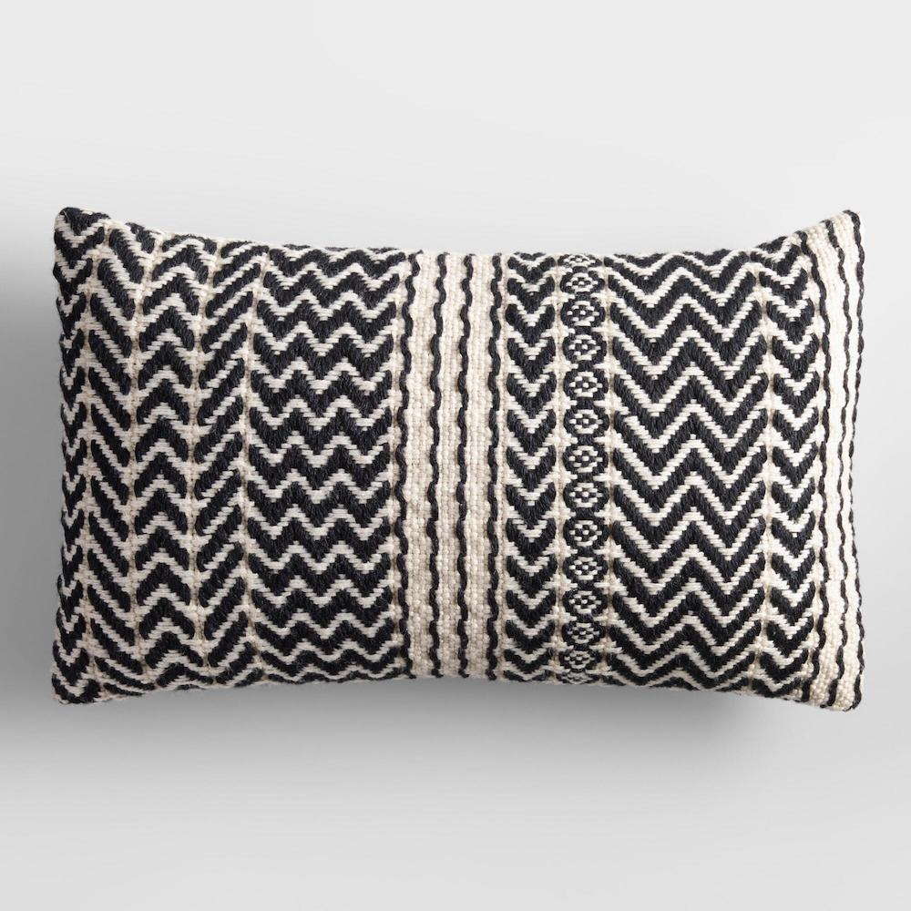 world market outdoor products - zigzag pillow