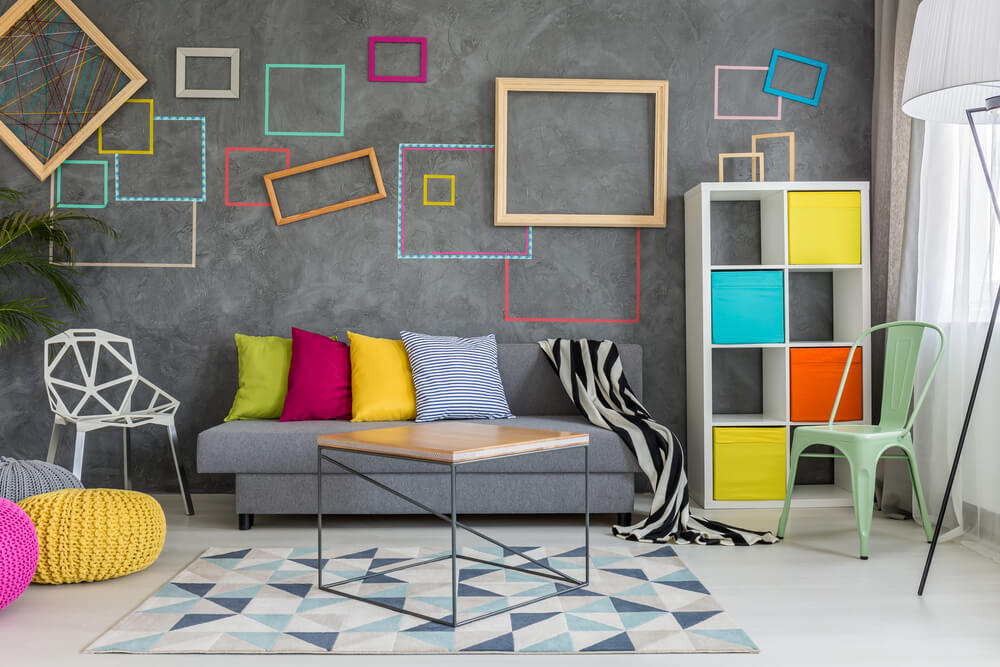 Home Organizers Colorful Shelving