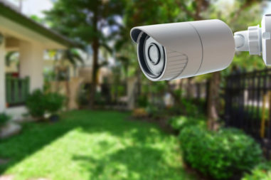 Home Security Camera Shot