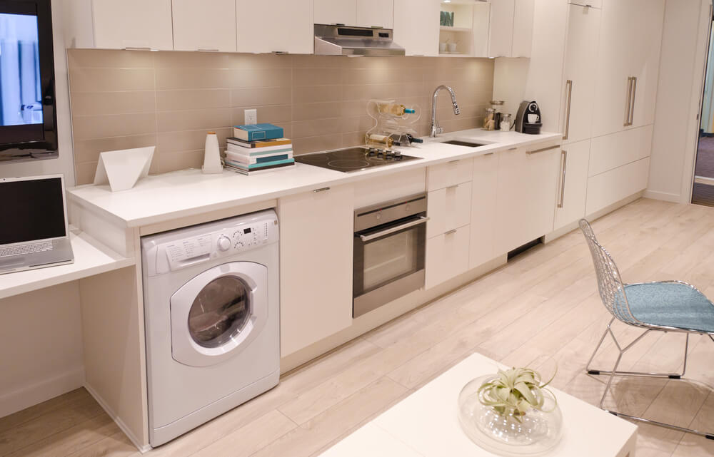 Laundry Room Kitchen Space
