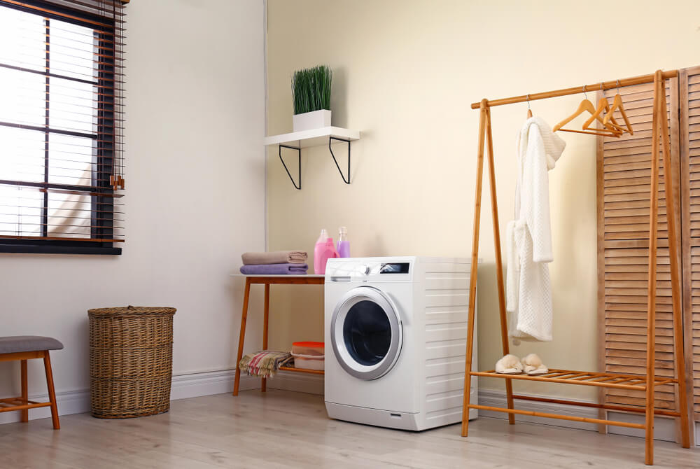 Laundry Room Zen Area