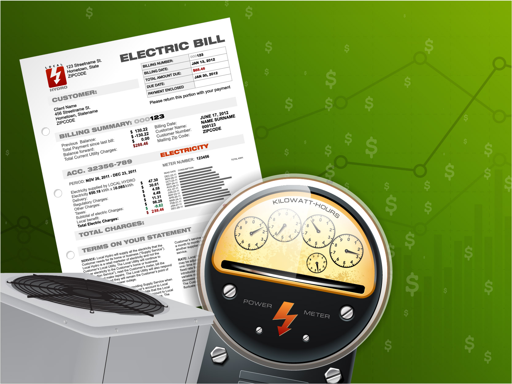 How Your HVAC Unit Affects Your Power Bill