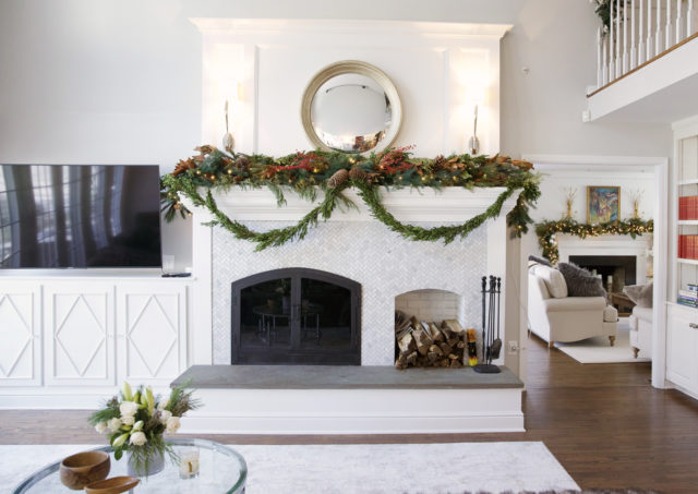Give Your Brick Fireplace a Facelift – Reader Story